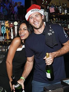 Star Tracks: Thursday, December 10, 2015 | BARTENDING BABES | Rosario Dawson and Scott Eastwood do behind-the-bar duty at Geoff Stults' birthday party fundraiser for The Charlotte and Gwenyth Gray Foundation on Wednesday night in West Hollywood.