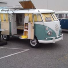 Get a classic VW camper van, and completely restore it for road-tripping! New engine, new tires, fix everything, gut interior, new paint job.