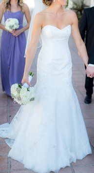 Essense Of Australia 1376 Wedding Dress $1,100