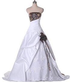 online shopping for DINGZAN Lace Camo Wedding Dresses Ball Reception Quinceanera Gowns from top store. See new offer for DINGZAN Lace Camo Wedding Dresses Ball Reception Quinceanera Gowns Camo Wedding Dresses, Country Wedding Dresses, Wedding Dresses Plus Size, Cheap Wedding Dress, Boho Wedding Dress, Bridal Dresses, Wedding Gowns, Wedding Beach, Purple Wedding