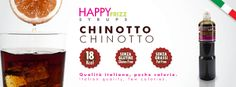 HAPPY FRIZZ SYRUPS CHINOTTO Find lots of funny recipes by HAPPY FRIZZ on http://www.shophappyfrizz.com/en/ricette/