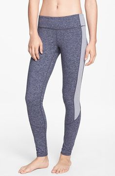 Zella 'Live In - Triple Blocked Mélange' Leggings | Nordstrom