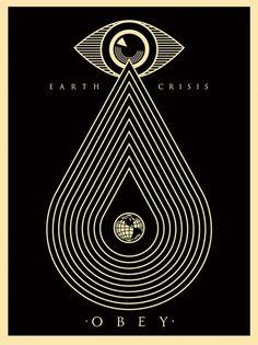 Sheppard fairey earth crisis obey print