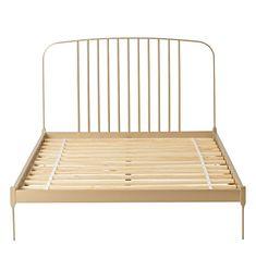 Larkin Gold Bed Frame | The Land of Nod