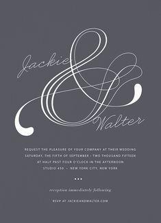 Atlantic Invitation card by Hello!Lucky on Postable.com