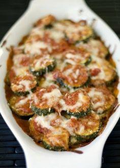 Layered Zucchini Parmesan