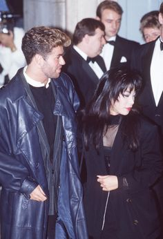 George Michael and Kathy Jeung