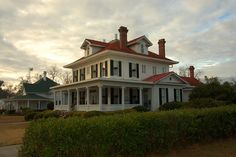 millen georgia | Millen GA Historic District Parker Davis House Photograph Copyright ...