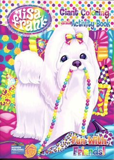 158 Best Lisa Frank Stickers Dogs Images On Pinterest In 2018