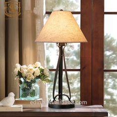 Yaratıcı sanat için keten abajur ile demir masa lambası yatak odası-resim-Masa Lambaları & Okuma Lambaları-ürün Kimliği:60295187730-turkish.alibaba.com