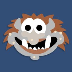Masketeers Printable Masks: Printable Troll Mask for 3 billy goats gruff