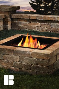 Fire pits are easy to maintain and create a natural space for friends to congregate. Fire Pit Designs, Outdoor Lighting, Outdoor Decor, Fire Pit Backyard, Fire Pits, The Great Outdoors, Kayaking, Outdoor Fireplaces, Vacation
