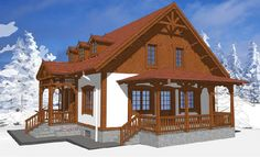 Sunt frumoase proiectele de case tradiționale românești concepute de arhitectul Adrian Păun | Adela Pârvu - Interior design blogger Home Fashion, Traditional House, Gazebo, Architecture Design, Romania, Outdoor Structures, Cabin, Interior Design, House Styles