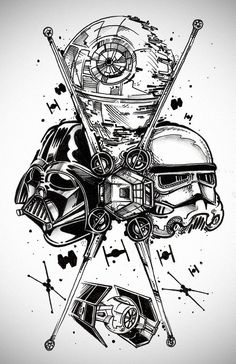 Star Wars inspired art...
