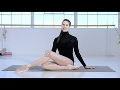 ▶ Ballet Beautiful with Mary Helen Bowers - Tone and lift your derrière | NET-A-PORTER.COM - YouTube