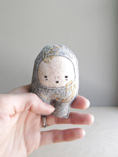 How cute! His story is also lovely and imaginative.