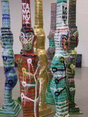 Tawera Tahuri Enamel on Fiberglass New Zealand Art, Jr Art, Maori Art, Art Education, Nativity, Art Gallery, Sculpture, Contemporary, Learning