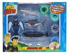 The Official PBS KIDS Shop | Wild Kratts Creature Power 4 Pack - Swimmers Set