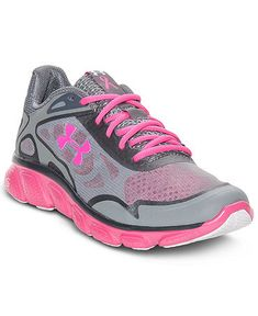 black and pink under armour shoes