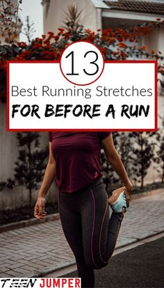 Best stretches you can do before you go for a run for weight loss fanatics and athletes alike. Try some of these and you'll feel the difference it makes. Essential Guide to Working for Weight Loss # Stretches Before Running, Running Workouts, Stretching, Running Tips, Cardio Workouts, Workout Routines, Calf Stretches, Best Stretches