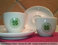 Tazzine da caffè personalizzate Associazione I Butei https://sites.google.com/site/krakenpromot/cosa-facciamo