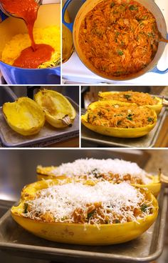 Spaghetti Squash Enchilada Boats (Grain-free) | Detoxinista