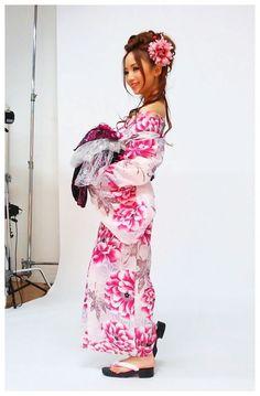Gyaru in kimono