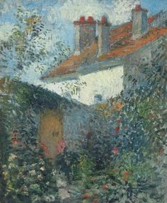 Camille Pissarro, Etude à Pontoise
