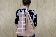 rucksack nude. von by elhe. auf DaWanda.com