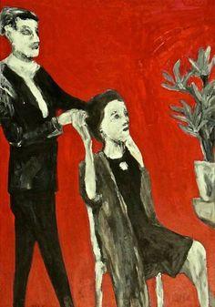 "Saatchi Art Artist siri skogstad berntsen; Painting, ""Flowers"" #art"