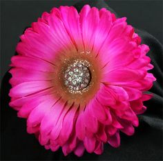 Pink Flower Fascinator by dixieheartless on Etsy, $12.00