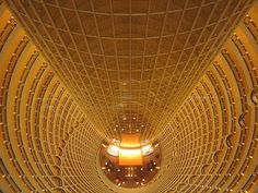 Jin Mao Tower: had dinner here a couple days ago / you know you're in shanghai when the hotels *start* on the 56th floor