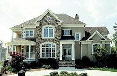 House Plan 85511 | Farmhouse Traditional Plan with 4528 Sq. Ft., 4 Bedrooms, 4 Bathrooms, 3 Car Garage