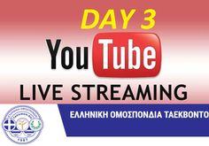 Live Streaming (3η ημέρα) :Πανελλήνιο πρωτάθλημα παίδων-κορασίδων 2017