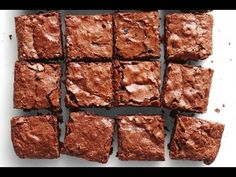 Vegan Protein Brownies - MADE USING AQUAFABA! This will BLOW YOUR MIND! - YouTube
