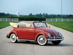1957 VW Type 1 Beetle cabriolet by Karmann