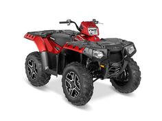 New 2016 Polaris Sportsman 850 SP Sunset Red ATVs For Sale in North Carolina.