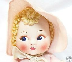 SympleTymes Cloth Art By Sherrie Nordgren: Georgene Novelty Averill Hendren Cloth Doll Vintage '30