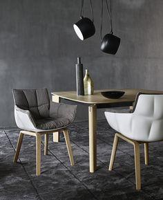 Chair: HUSK - Collection: B&B ITALIA - Design: Patricia Urquiola
