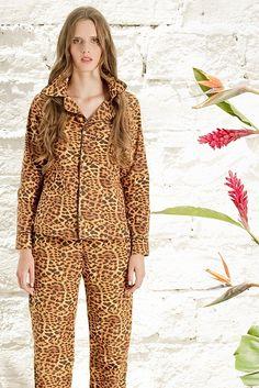 Pijama Jaguar , habita en el Amazonas Colombiano.