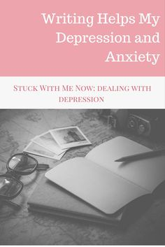 Writing helps anxiety