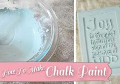 Have you heard of Chalk Paint? It's quickly becoming the newest rage in the DIY circle, especially after a blogging conference this summer when a ton of bloggers were given little jars of very expensive Annie Sloan chalk paint. So many blogs I've read lately... #affordable #annesloan #antiquing