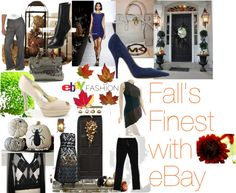 """Fall's Finest with eBay"" by bronzebellacouture on Polyvore"