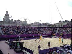 Swiss Beach Volleyball - Horse Guards Parade - Patrik Silen