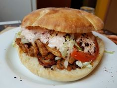 Turkish Recipes, Ethnic Recipes, Pulled Pork, Street Food, Hamburger, Cooking Recipes, Treats, Google, Rezepte