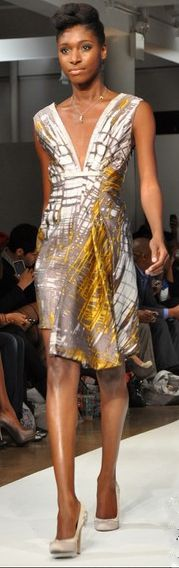 Korto Momolu.  Nice to see more beautiful work from this Project Runway alum.