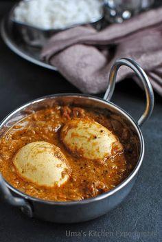 Indian Curry Trail: Chettinad Egg Gravy / Chettinadu Muttai Masala