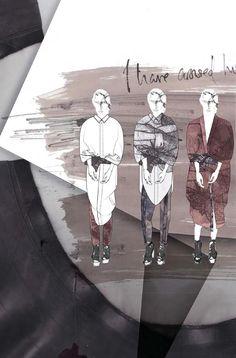 Fashion Sketchbook - fashion illustrations; fashion design portfolio // Victoria Rowe