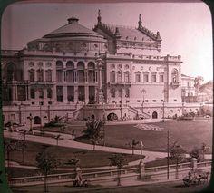1912 - Teatro Municipal de São Paulo.