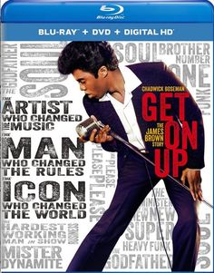 Blu-ray review for Get on Up, the biopic about James Brown, starring Chadwick Boseman.
